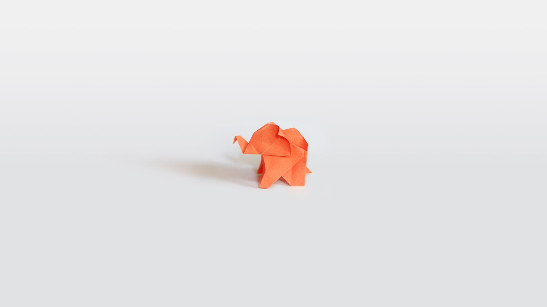 Simple Origami Paper Rose