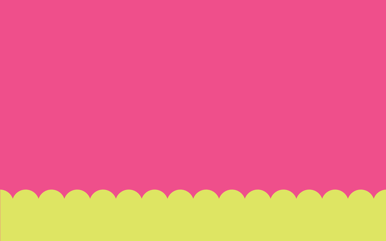 pink scallop wallpaper