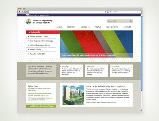 UW MolES website