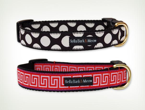 Bella Bark & Meow collars
