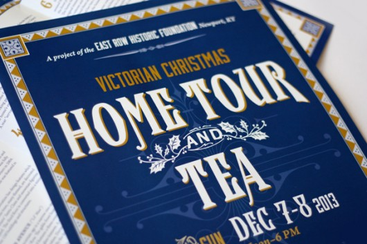 Home tour poster design