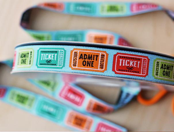 Ticket ribbon