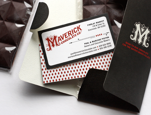 Chocolate company branding