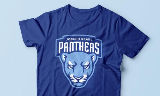 Panther mascot shirt