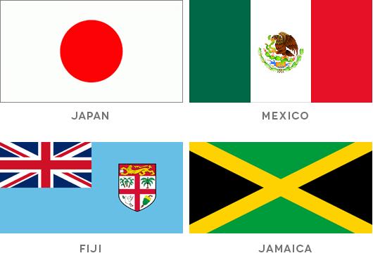 Good bad flag design examples